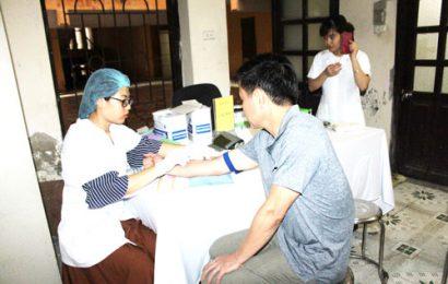 Tổ chức khám sức khỏe cho cán bộ viên chức năm 2018