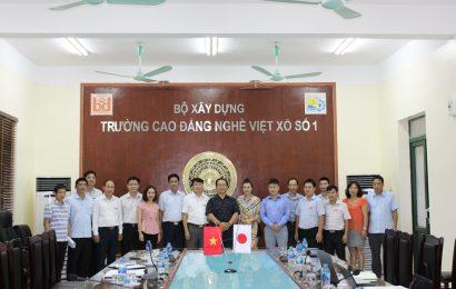 Lễ kí kết biên bản ghi nhớ hợp tác Trường cao đẳng nghề Việt Xô số 1 – Tổ chức nhân lực quốc tế Atom – công ty CP XKLĐ & TM Bảo Việt