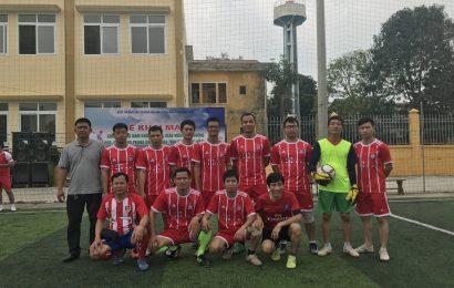 Giải bóng đá nam khối cán bộ, giáo viên các trường Đại học, Cao đẳng trong khối thi đua tỉnh Vĩnh Phúc năm 2018