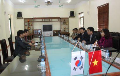Trường ĐH Chodang Hàn Quốc thăm và làm việc tại nhà trường