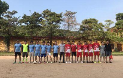 Giải bóng đá giao hữu sinh viên năm 2018