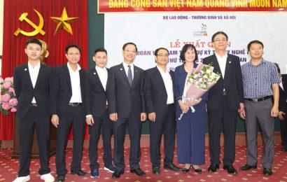 Lễ xuất quân đoàn Việt Nam tham dự kỳ thi tay nghề Asean lần thứ XII năm 2018 tại Thái Lan