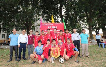 Giải bóng đá nam THPT + Nghề năm 2019