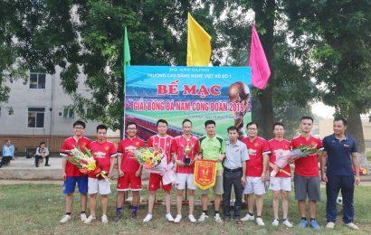 Bế mạc giải bóng đá nam công đoàn 2019