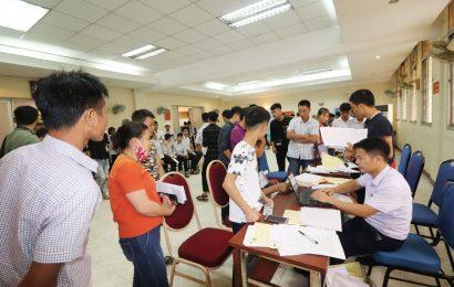 Trường Cao đẳng nghề Việt Xô số 1 nhập học khóa 43 đợt 1 cho hệ  THPT + trung cấp