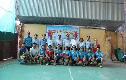 Thi đấu giao hữu cầu lông giữa trường Cao đẳng nghề Việt Xô số 1  và Công ty Cổ phần Prime Yên Bình (Vĩnh Phúc)