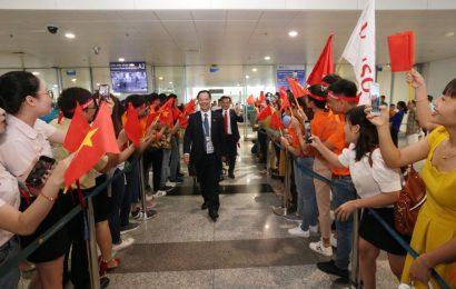 Lễ đón đoàn trở về từ Kỳ thi tay nghề thế giới lần thứ 45 tại Kazan – Liên bang Nga.