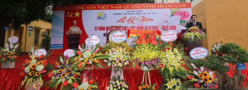 Lễ Khai giảng năm học mới 2019-2020 và Kỷ niệm ngày Nhà giáo Việt Nam 20-11