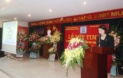 Mít tinh kỷ niệm 70 năm ngày truyền thống HSSV và Hội sinh viên Việt Nam (09/01/1950 – 09/01/2020)