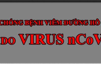 Thông báo về việc phòng, chống dịch viêm đường hô hấp cấp do Virus Corona