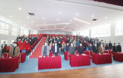 Lễ kỷ niệm 90 năm ngày thành lập Đảng Cộng sản Việt Nam (03/02/1930 - 03/02/2020) và Kết nạp đảng viên mới.