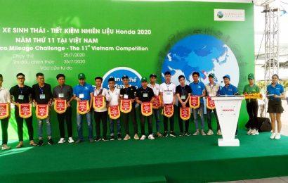 Trường Cao đẳng nghề Việt Xô số 1 tham gia Cuộc thi Lái xe sinh thái – Tiết kiệm nhiên liệu Honda 2020