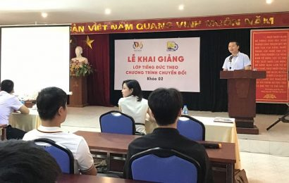 Trường Cao đẳng nghề Việt Xô số1 khai giảng lớp tiếng Đức khóa 2