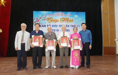 Cao đẳng nghề Việt Xô số 1  tổ chức Gặp mặt các cán bộ, giáo viên hưu trí  nhân dịp kỷ niệm 42 năm ngày thành lập Trường (07/11/1978 – 07/11/2020)