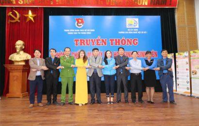 Truyền thông về phòng chống ma túy cho học sinh sinh viên  trường Cao đẳng nghề Việt Xô số 1
