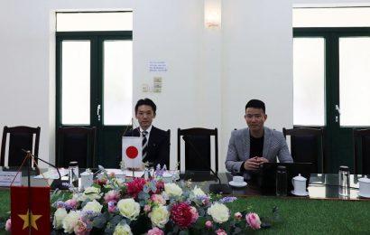 Trung tâm Nguồn nhân lực Fecon-Clay và Nghiệp đoàn Nhật Bản TAC  thăm và làm việc tại nhà trường