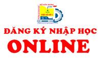 Đăng ký nhập học trực tuyến