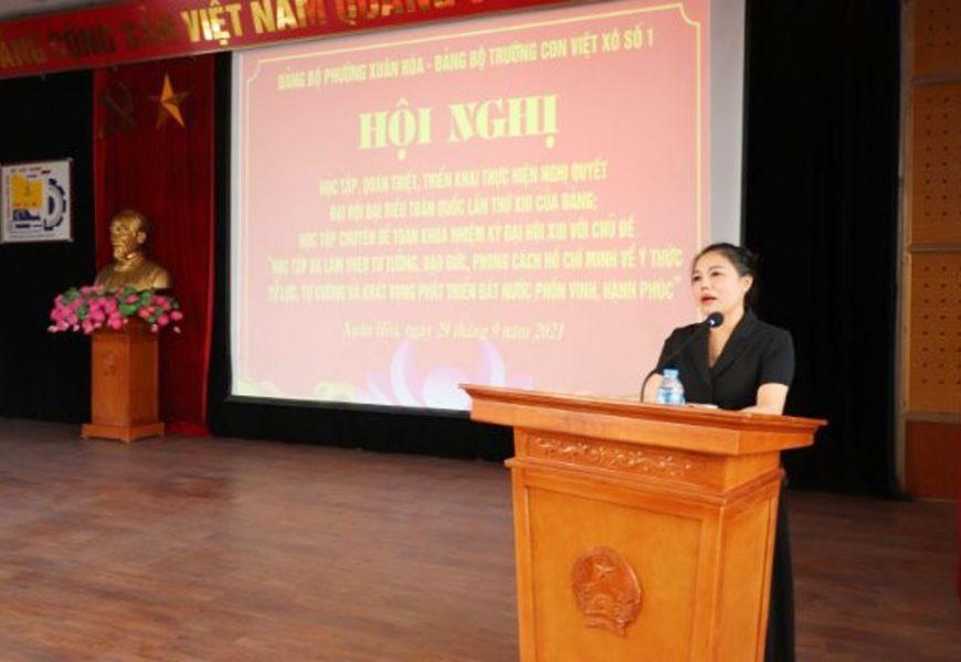 Hội nghị Học tập quán triệt, triển khai thực hiện Nghị quyết Đại hội  đại biểu toàn quốc lần thứ XIII của Đảng