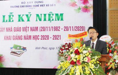 Lễ Kỷ niệm 38 năm ngày Nhà giáo Việt Nam (20/11/1982 – 20/11/2020)  và Khai giảng năm học mới 2020-2021